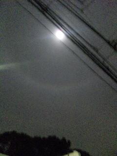 ゆうべの月