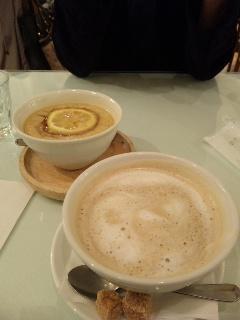 カフェオレに柚子茶に…