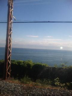 海を見に…