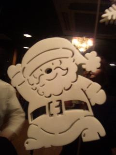 サンタさんにスノーマン