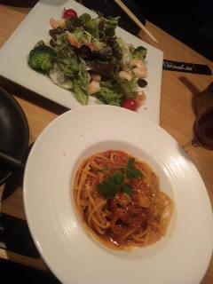 渋谷キリストンカフェでした♪