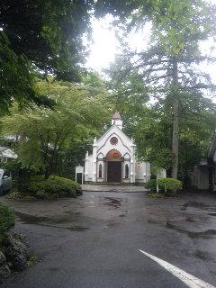雨の軽井沢