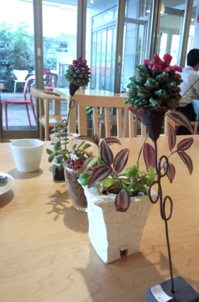 春日部のカフェにて☆