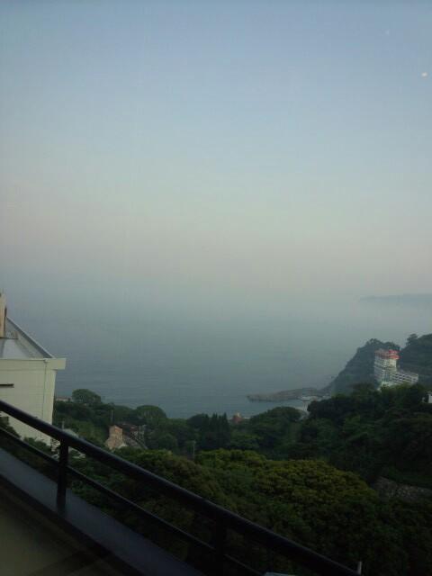 海が一望、山の上のホテル